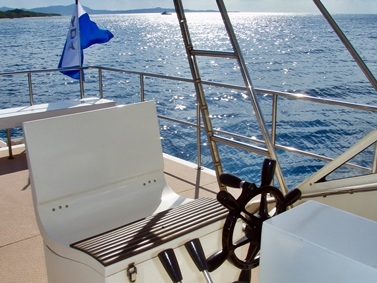 ダイビングボート2F