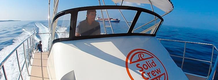 ダイビングボートチャーター